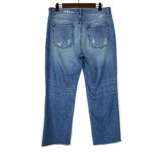 DL1961 Jeans - DL1961 Patti High Rise Straight Raw Hem Crop